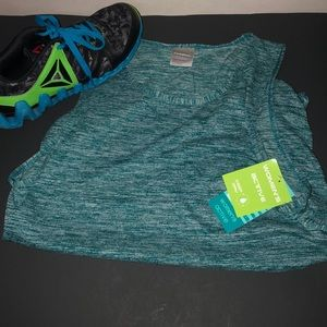Athletic Tank Moisture Wicking NWT Green marble M